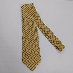 Brooks Brothers 346 butterscotch tie men's necktie